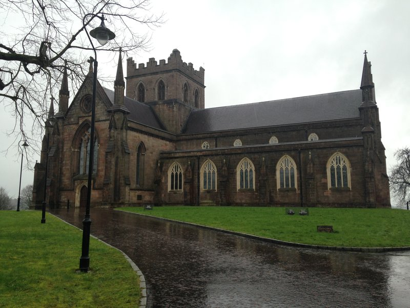 A damp day in Armagh - More Irish family history, Deacon this time!