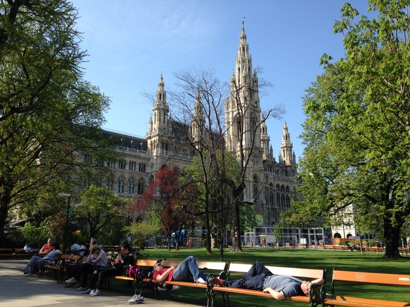 Wiener Rathaus - The city hall of Vienna