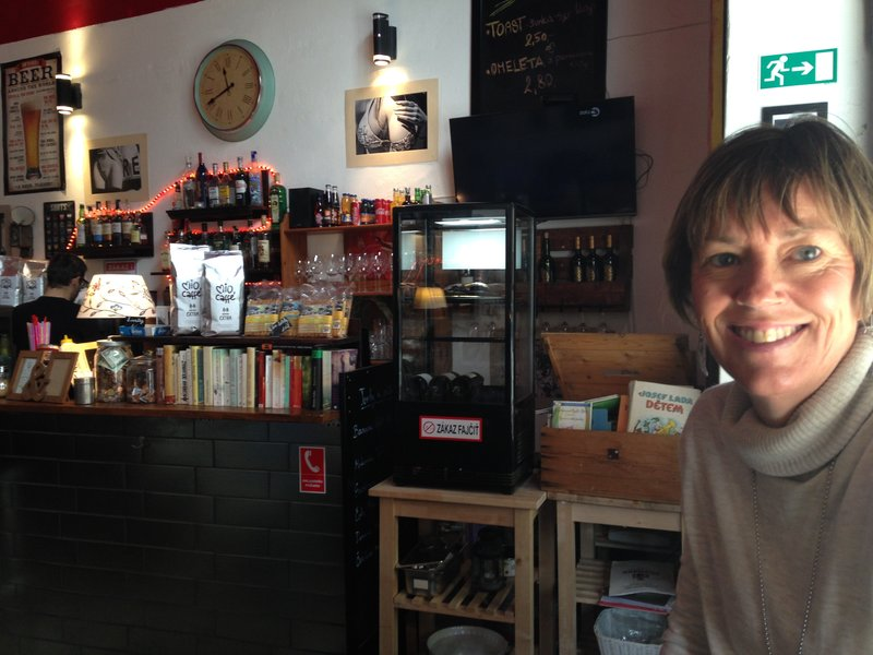 Coffee shop in Bratislava