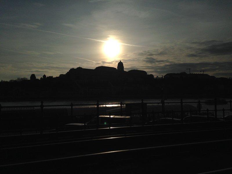 Sunset Budapest