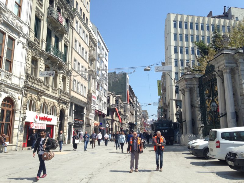 Walking the streets of Istanbul