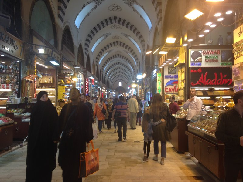 Walking the streets of Istanbul - Spice Bazaar - it's a shame the photos can't replicate the smell