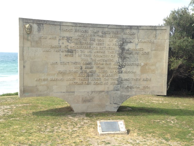 Ataturk's message to ANZAC Mothers