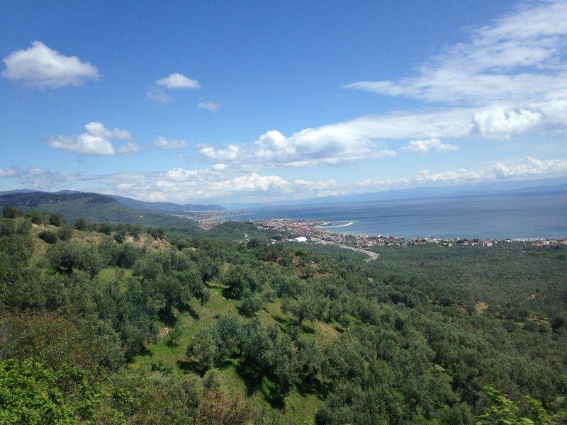 On the road to Izmir
