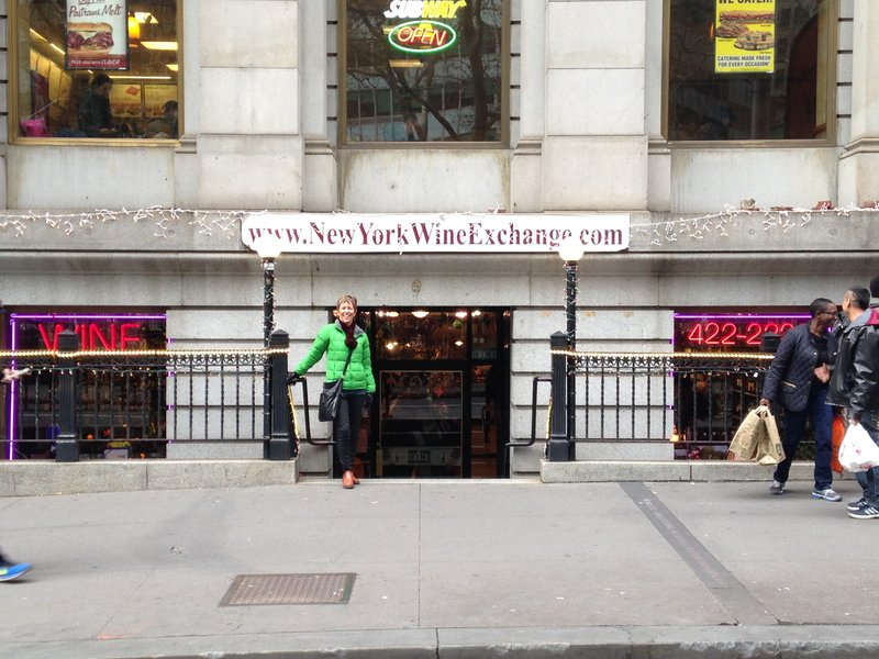 A much more exciting 'exchange' for Lynelle in the Financial District!