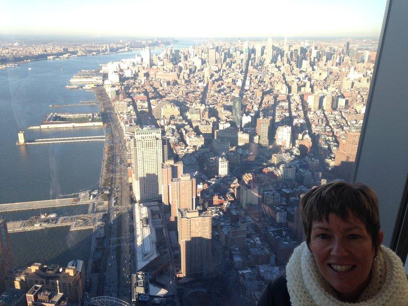Manhattan from One World