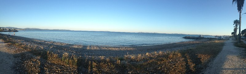 The beach at Parc et Plage