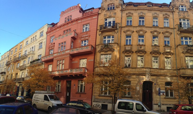 Buildings in Prague
