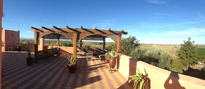 We had this place to ourselves for the 2 nights we had in Marrakech