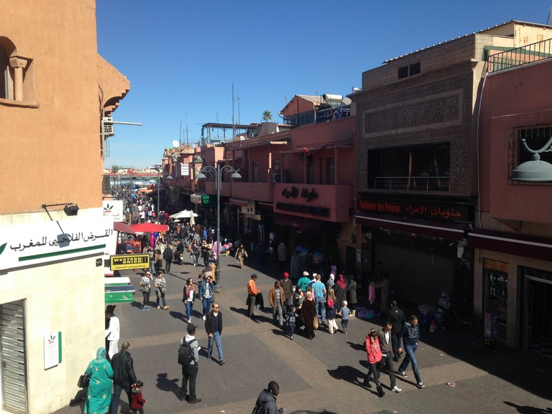 Walking the streets of Marrakech Medina