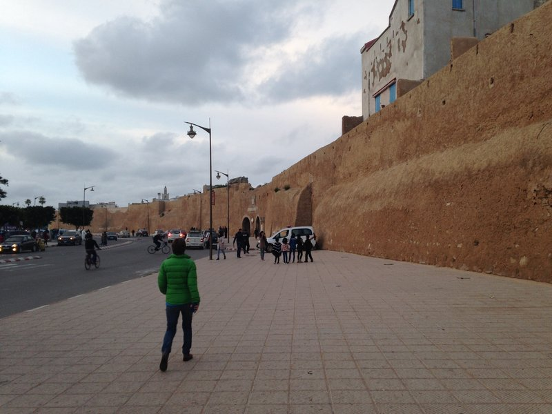 Images from an evening walk around El Jadida
