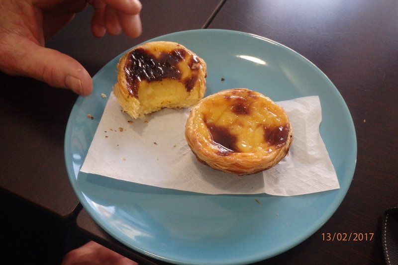 Couldnt leave Lisbon with out having 'Pastel de nata' in Belém