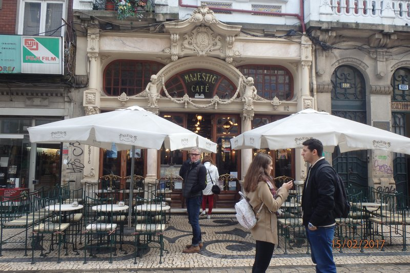 The Majestic Cafe in Porto Lisbon