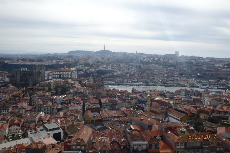 View from the Clérigos Tower
