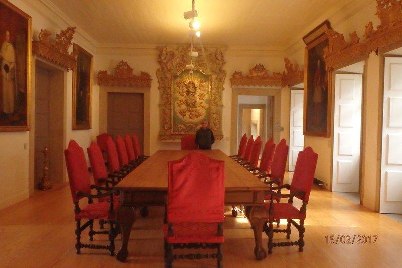 Inside the Clérigos Tower