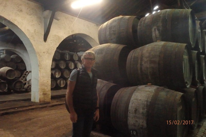 We toured and tasted the Port at the oldest of all Port houses in Porto. Croft, founded in 1588, is the oldest firm still active today as a Port Wine producer.