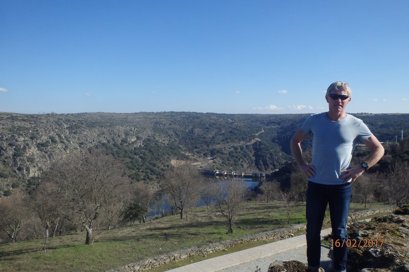 The beautiful little town of Miranda do Douro on the border between Portugal and Spain