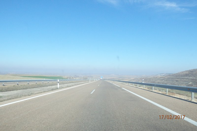 On the road from Zamora to Bilboa (Deba)