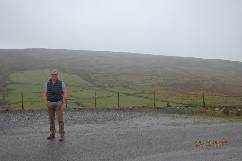 Top of the Coom on the way to the Ring of Kerry - The pub was shut!