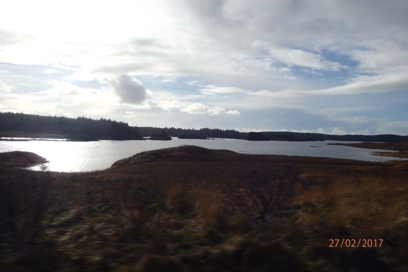 On the road to Clifden' - County Galway