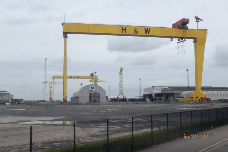 Harland and Wolff Heavy Industries  - Builder of the Titanic