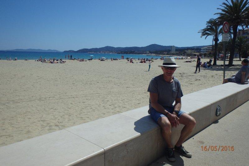 The nicest beach we found on the Côte d'Azur - Le Lavandou