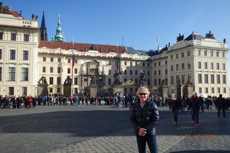 St. George's Basilica is the oldest surviving church building within Prague Castle, Prague