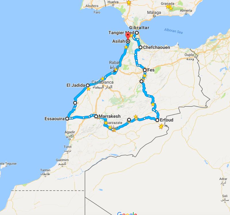Our Road Trip through Morocco