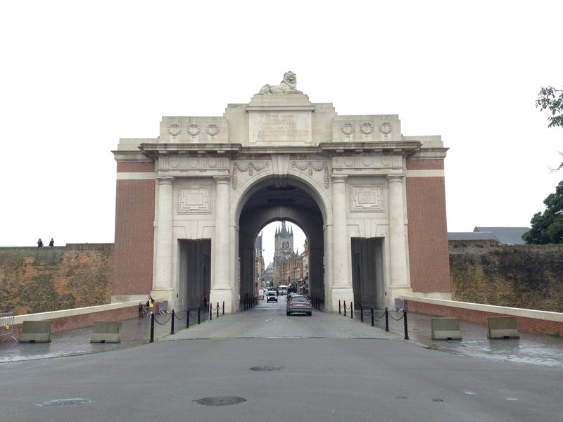 Menin Gate Memorial to the Missing