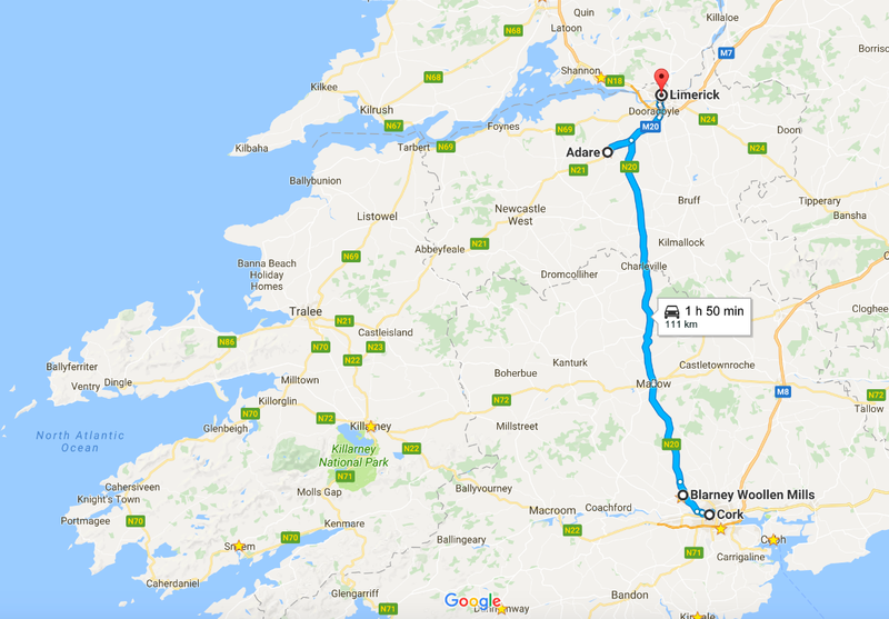 Cork to Limerick