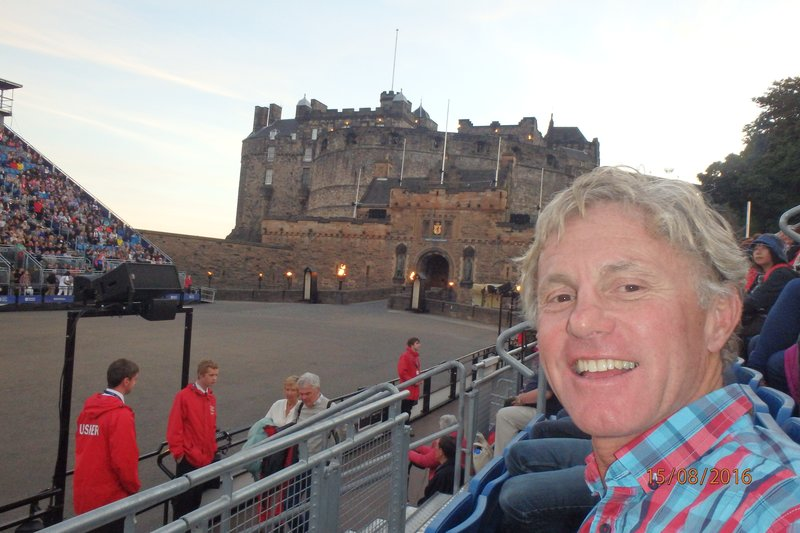 Action from the 'Edinburgh Royal Military Tattoo'