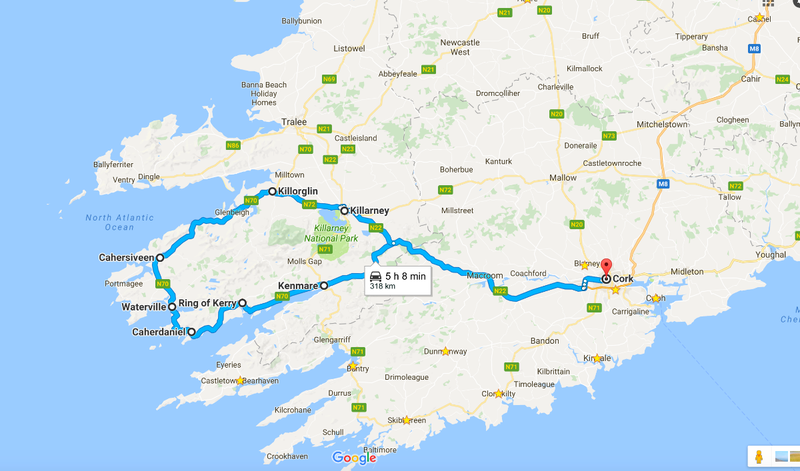 Roadtrip around Ring of Kerry