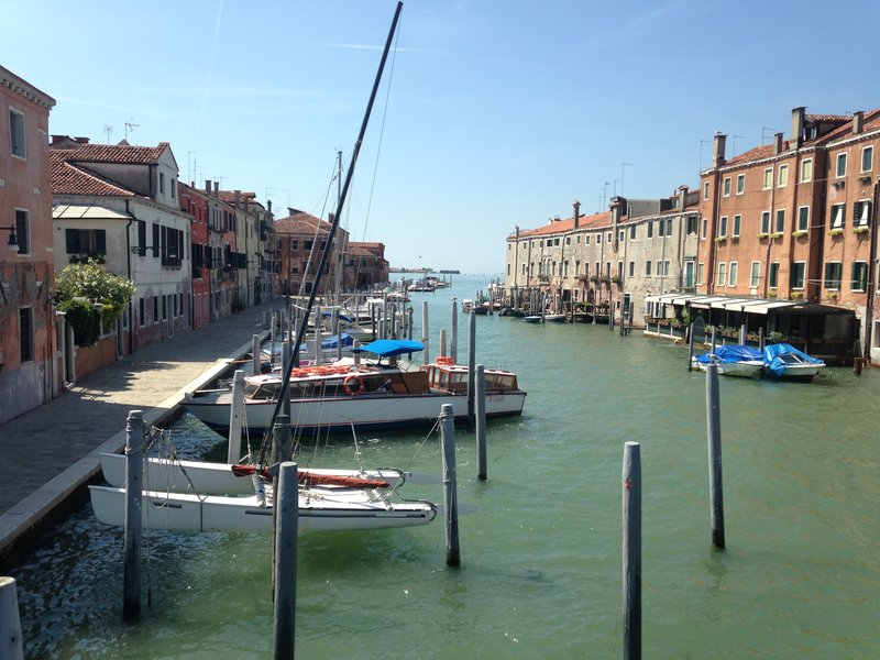 The more peaceful side of Venice
