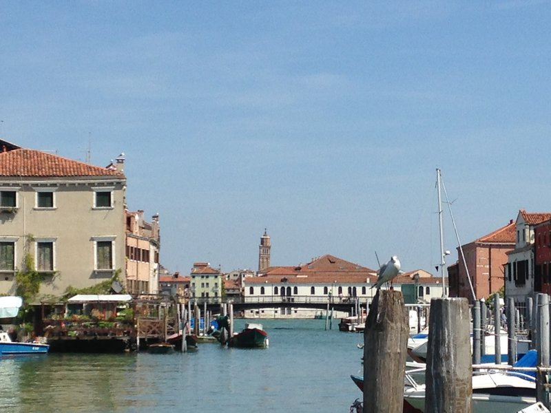 The more peaceful side of Venice - is that on a 'slight' lean?