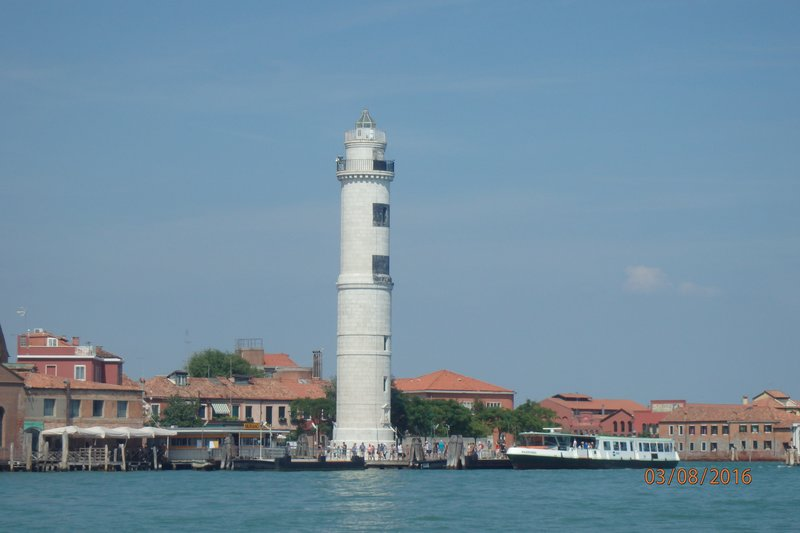 The lighhouse on Murano