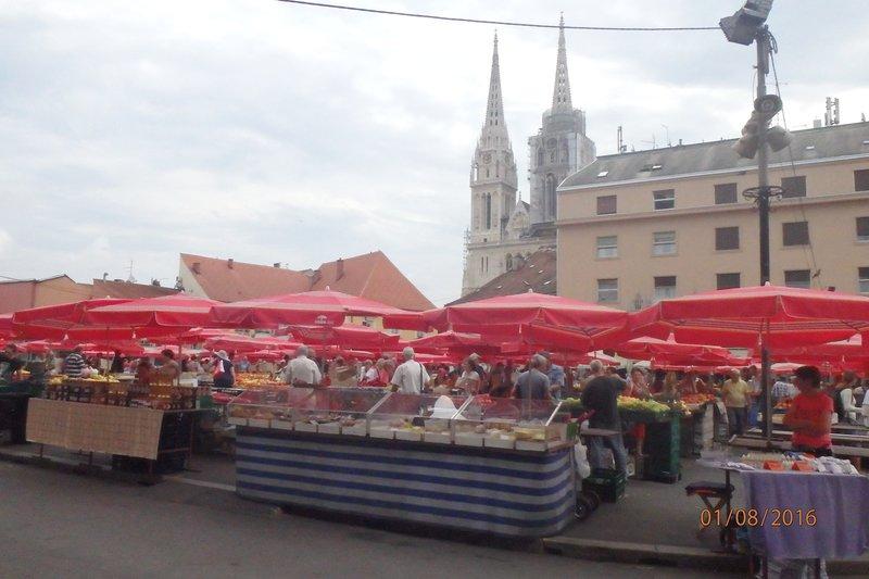 Dolac Market Sqaure