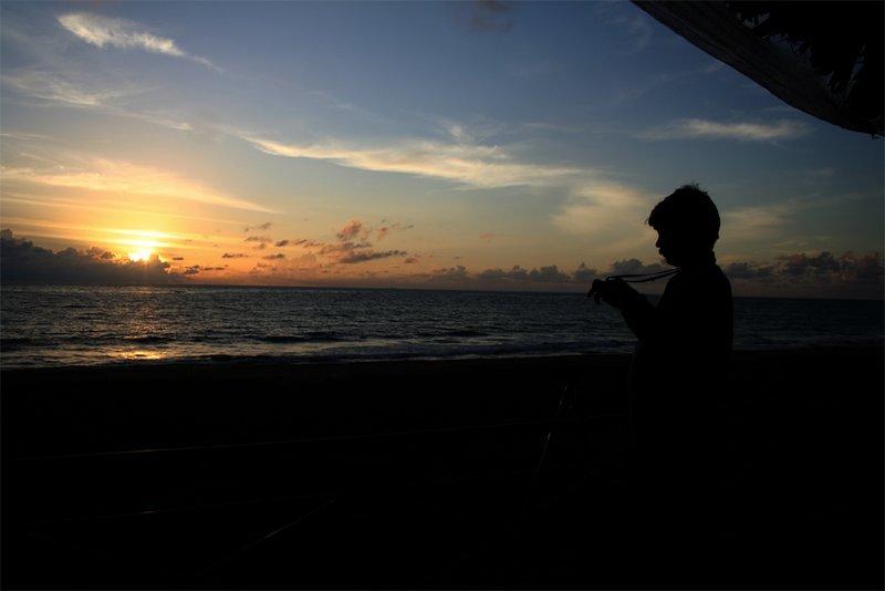 sun set...kuzhupilly!!!