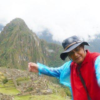 Sudden Rain at Machu Picchu