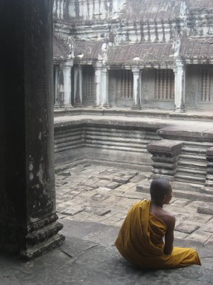 Young Monk, Angkor Wat
