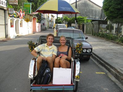 Our Trishaw experience