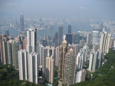 The Peak, Hong Kong Haze