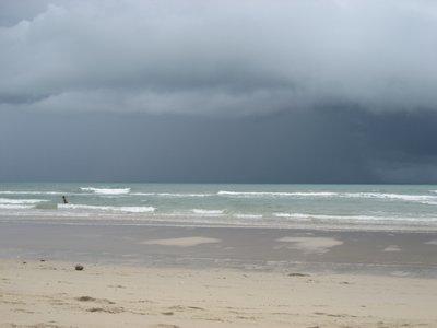 The rain sheet!