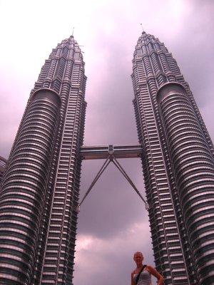 Me at the Petronas