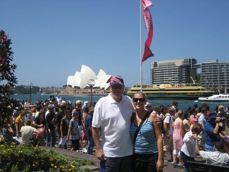 Australia Day Dave and I