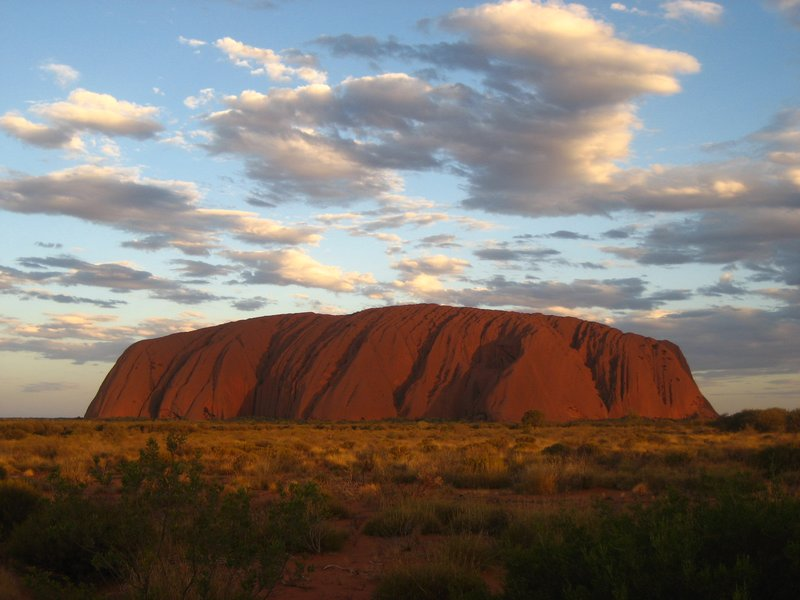 Sunset Ayers rock