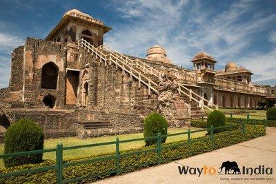Jahaj Mahal , at Mandu,Madhya Pradesh,india