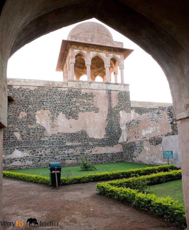 Baaz Bahadur Palace  at Mandu,Madhya Pradesh,india