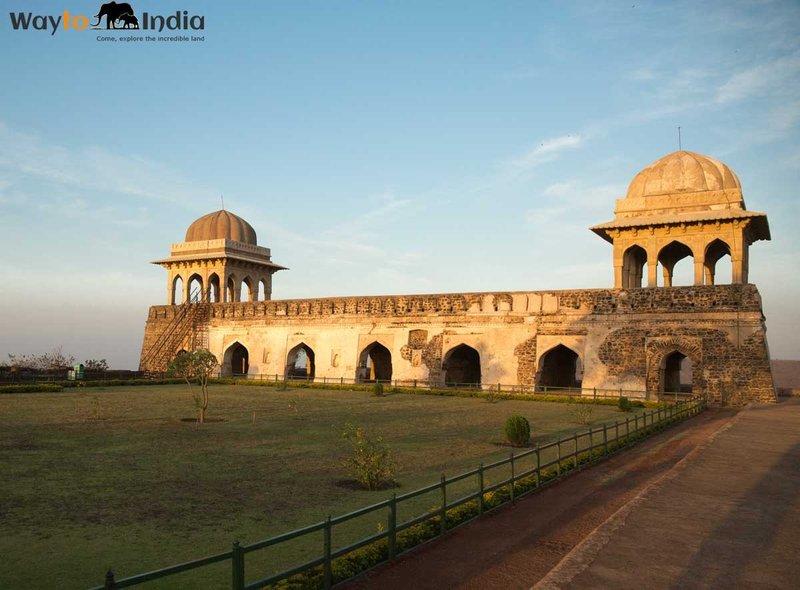 Rani Rupmati's Pavalion at Mandu,Madhya Pradesh,india