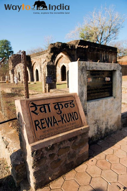 Rewa Kund at Mandu,Madhya Pradesh,india