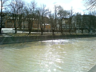 By the Aura river, in Turku